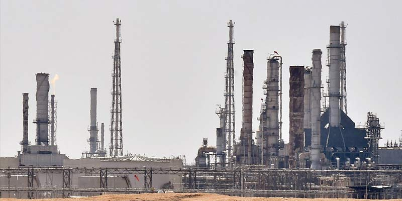 Attack takes a toll on spare oil capacity